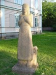 "Skulptuur ""Kodumaa"". P. Mudist, 1981 (graniit) Foto: Sirje Simson 14.06.2006"