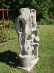 """Skulptuur """"Kompositsioon"""". E. Viies, 1964 (betoon) Foto: Sirje Simson 15.06.2006"""