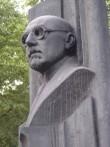 Mart Saare monument. A. Kuulbusch-Mölder, arh. I. Volkov, 1982 (pronks, graniit). Detailvaade Foto: Sirje Simson 14.06.2006
