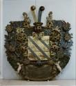 J. H. Nierothi vapp-epitaaf. 17. saj. lõpp (puit, polükroomia). Foto: Toomkiriku vapitöökoda 2003