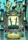 G. W. v. Stackelbergi vappepitaaf. Umb. 1863 (puit, polükroomia). Foto: Toomkiriku vapitöökoda 1994