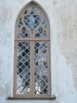 15887 Ilumäe kabel , restaureeritud põhjapoolne aken  , 20.10.11. Anne Kaldam