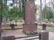 Pilistvere kalmistul Jüri Vilmsi haud  Foto Anne Kivi 13.10.2011