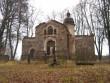 Vaade kiriku peasissepääsule. Foto: Anne Kivi, 26.11.2011