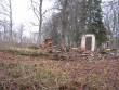 Puidust pastoraadihoone asukoht. Foto: Anne Kivi, 26.11.2011