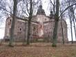 Vaade kiriku varemetele. Foto: Anne Kivi, 26.11.2011