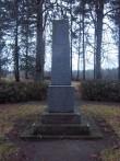 Vabadussõja mälestussammas Vahastu kalmistul. K. Klandorf 14.12.2011