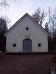 Rapla kalmistu kabeli peasissepääs, vaade idasuunast. K. Klandorf 20.12.2011
