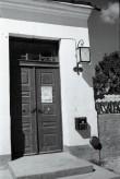 Lehola mõisa peahoone uks. Foto: V. Ranniku 1966