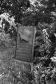 Hauatähis kalmistul. Foto: V. Ranniku 1966