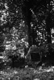 Hauatähised kalmistul. Foto: V. Ranniku 1966