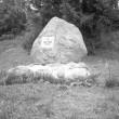 Otepää linnamägi, kivi linnamäel  Foto: A. Kiisla 1967