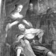 "Lünettmaal ""Simson ja Delila"". Detail. Foto: R. Valdre"