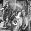 """Lünettmaal """"Susanna kohtu ees"""". Detail. Foto: R. Valdre"""