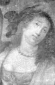 """Lünettmaal """"Susanna kohtu ees"""". Detail"""