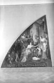 """Lünettmaal """"Salomoni kohus"""". Üldvaade. Foto: P. Talvre"""