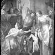 "Lünettmaal ""Salomoni kohus"". Detail. Foto: R. Valdre"