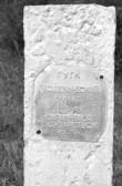 Maa-alune kalmistu, godeesiapost kalmistu idaodal. Foto: E. Väljal 17. mai 1985