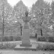 Johannes Lauristini monument (graniit, pronks), üldvaade. Foto: T. Kohv, 1966