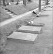 Hauaplaat. Foto: R. Valdre, 1965