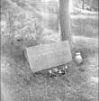 Mälestuskivi. Foto: H. Kõlar, 1971