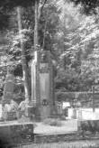 Jaan Bergmanni haud hauasambaga, üldvaade. Foto: H. Kõlar 1985