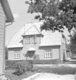 Maja, kus elas kunstnik Gustav Mootse, üldvaade. Foto: H. Kõlar 1985