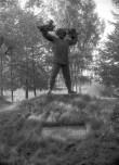 """""""Puuaiasõja"""" monument, üldvaade. Foto: H. Kõlar 1985"""