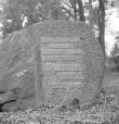 Mälestuskivi tekst. Foto: A. Sillasoo, 1974