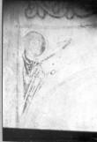 Maalingute fragmendid koori põhjaseinal. Foto: V. Raam 1972