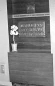 Mälestustahvel. Foto: H. Joonuks, 1975