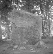 Mälestuskivi tekst. Foto: H. Kõlar, 1974