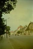 Kuressaare. Vaade Tallinna tänavale. Foto: V. Ruubel 1971