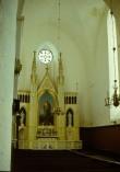 Järva-Peetri kiriku altarisein. Foto: A. Joonsaar 1974