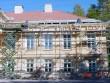 Aruküla mõisa peahoone katusekandekonstruktsioonide remont Foto: J. Vali 19.09.2000