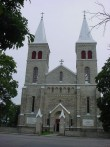 Rapla kiriku läänevaade Foto: J. Vali 25.07.2002