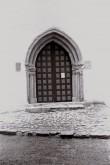 Haljala kiriku torniportaal Foto: V. Ranniku 1960