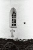 Patukahetsusrist Haljala kiriku seinas Foto: V. Ranniku 1960