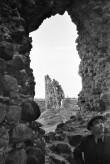 Vaade Laiuse linnuse O tornile Foto: V. Ranniku 1960