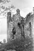Vaade Laiuse linnuse NW küljelt N tornile Foto: V. Ranniku 1960