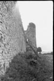 Vastseliina piiskopilinnus. Lõunamüür. Foto: V. Rannik 1960