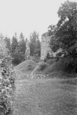 Vastseliina piiskopilinnus. SW nurk. Foto: V. Rannik 1960