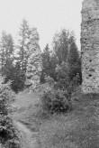 Vastseliina piiskopilinnus. Müüritulp SW-s. Foto: V. Rannik 1960