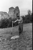 Vastseliina piiskopilinnus. Kagutorni S vaade. Foto: V. Rannik 1960