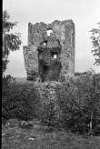 Vastseliina piiskopilinnuse kirdetorn seest. Foto: V. Rannik 1960
