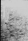 Vastseliina piiskopilinnuse müürijäänused. Foto: V. Rannik 1960