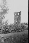 Vastseliina piiskopilinnuse põhjatorn seest. Foto: V. Rannik 1960