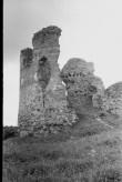 Vastseliina piiskopilinnuse kagutorni NO vaade. Foto: V. Rannik 1960