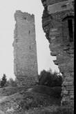 Vastseliina piiskopilinnuse põhjatorni O vaade. Foto: V. Rannik 1960