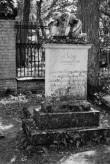 Dorothea von der Pahleni (Betsy) hauasammas Ilumäe kalmistul. Foto: V. Ranniku 1960